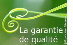 La garantie de qualité