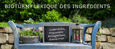 Lexique des ingredients
