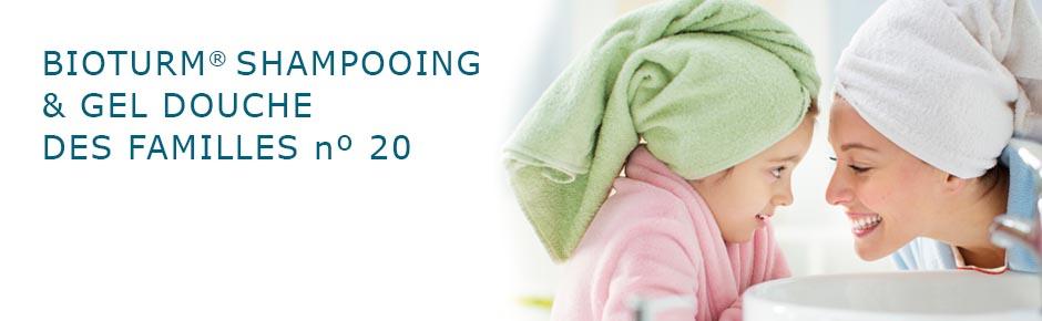 Bioturm Cosmétiques naturels Shampooing & gel douche des familles n° 20