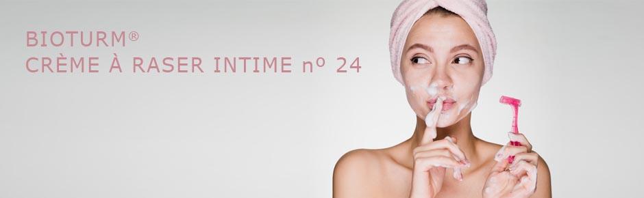 Bioturm Cosmétiques naturels Crème à raser intime n° 24