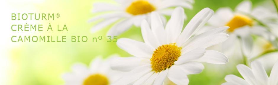 Bioturm Cosmétiques naturels Crème à la camomille bio n° 35