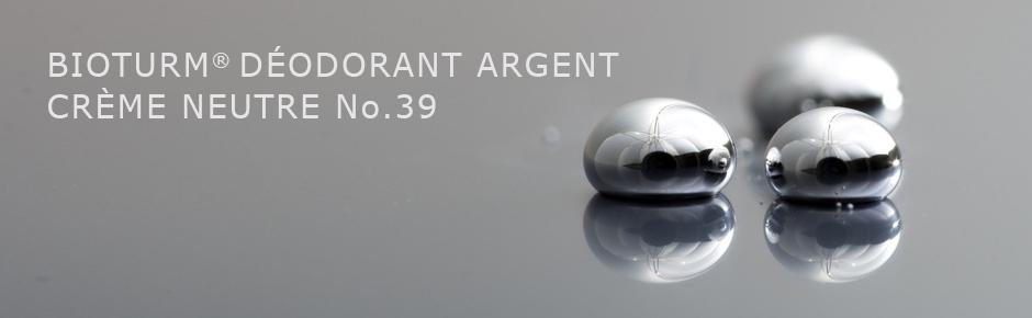 Bioturm Cosmétiques naturels Déodorant argent crème neutre n° 39