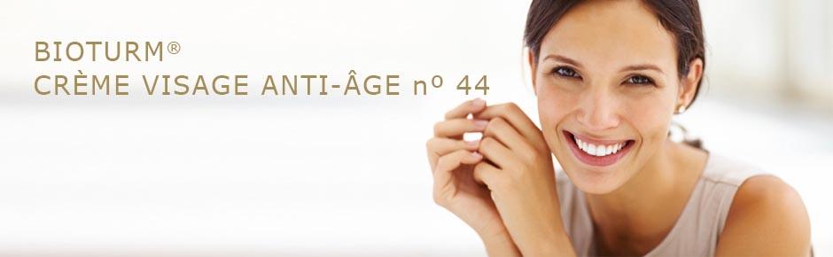 Bioturm Cosmétiques naturels Crème visage anti-âge n° 44