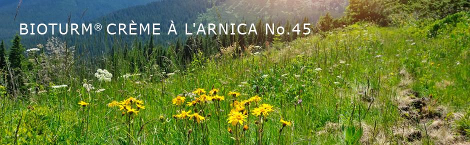 Bioturm Cosmétiques naturels Crème à l'arnica n° 45