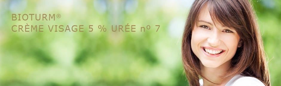 Bioturm Cosmétiques naturels Crème visage 5 % urée n° 7