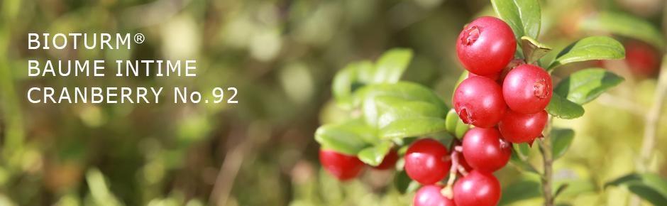 Bioturm Cosmétiques naturels Baume intime Cranberry n° 92