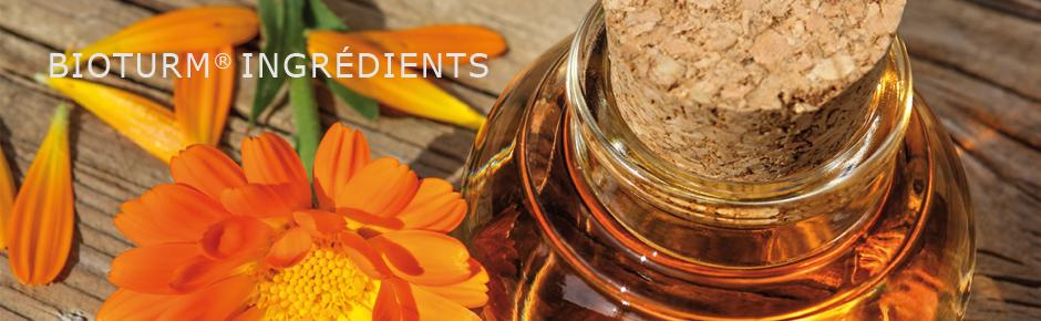 Cosmétiques naturels Bioturm - Ingrédients