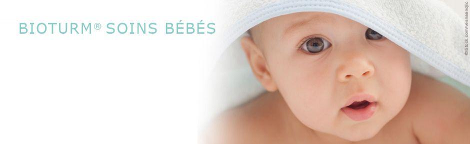 Cosmétiques naturels Bioturm - Soins bébés et enfants