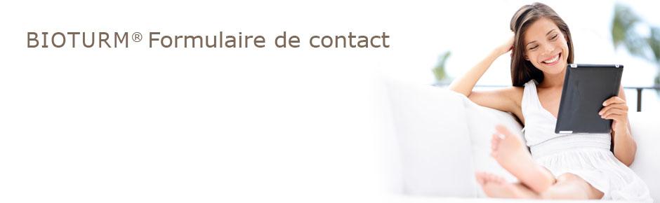 Bioturm cosm tique naturelle formulaire de contact - Formulaire de contact ...