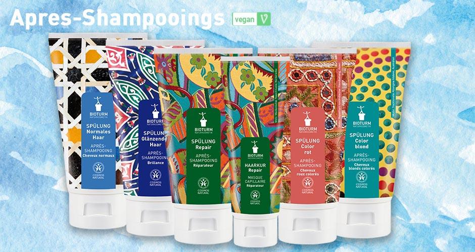 Apres-shampooings vegan