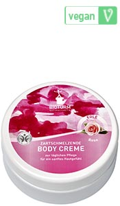 Naturkosmetik Crème corporelle rose n° 62