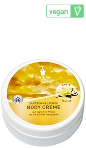 Naturkosmetik Crème corporelle vanille n° 60