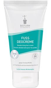 Cosmétiques naturels Crème déodorante pour les pieds n° 80
