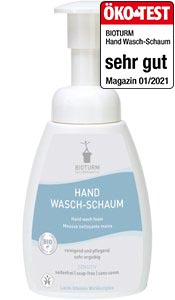 Cosmétiques naturels Mousse nettoyante mains n° 11
