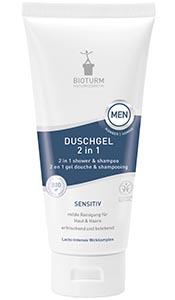 Cosmétiques naturels 2 en 1 gel douche & shampooing HOMME nº 128