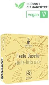 Cosmétiques naturels Gel douche solide vanille & fève de tonka n° 138